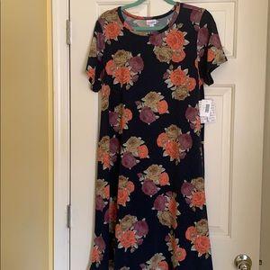 LulaRoe Large Carly Dress *Unicorn Alert* NWT